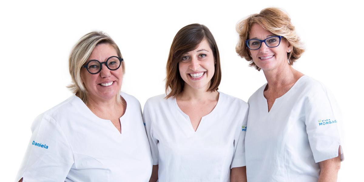 Daniela, Susanna, Elisabetta Assistenti